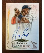 2015 Topps Five Star Hanley Ramirez FSA-HR Autograph Auto 22/25 Card Red... - $17.99