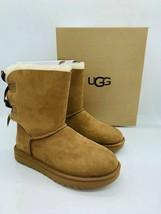 UGG Womens Bailey Bow II Winter Boots - Chestnut Sz 7 New! - $169.99