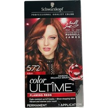 Schwarzkopf Color Ultime Flaming Reds 5.72 Auburn  Permanent Hair Dye - $29.99