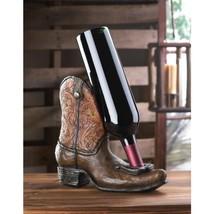 Lucky Cowboy Boot Wine Bottle Holder - $39.00