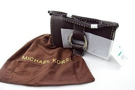 "MICHAEL KORS Brown Pochette, 7.5"" X 1.5"" X 11"" - $227.09"