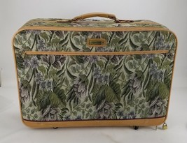 Vintage American Tourister Tapestry Floral 26 inch Suitcase with Wheels!... - $53.26