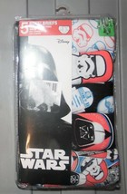 Disney Star Wars Boys Briefs 5 Pack Storm Trooper Underwear Size 4, 6 an... - $12.99