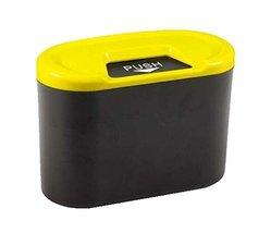 PANDA SUPERSTORE Creative Car Trash Cans/Green Box/Storage Box, Yellow