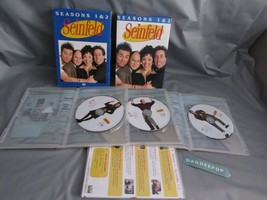 Seinfeld - Seasons 1  2 (DVD, 2004, 4-Disc Set) Missing #1 DVD - $8.90