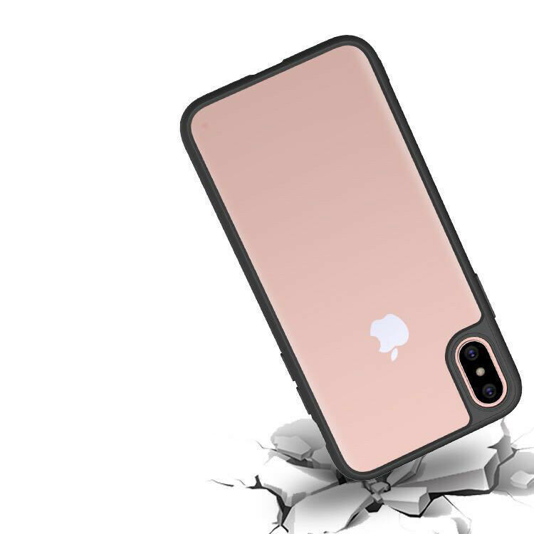 Apple iPhone X 7 Shockproof Clear Ultra Thin Hard Hybrid Bumper Back Case Cover image 6