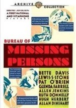 Bureau Of Missing Persons DVD Warner Bros. Archive Collection ( Ex Cond.) - $12.80