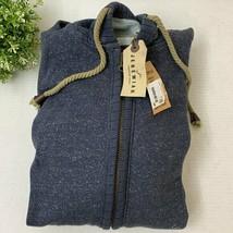 Jeremiah Men's Full Zip Hoodie Sweatshirt, Blue Gray, X Large - $45.53
