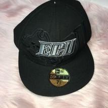 East Carolina ECU Baseball Cap New Era 59Fifty Black Adjustable - $14.50