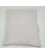 Aden + Anais White Pink Stripes Zutano Baby Muslin Swaddle Baby Blanket ... - $14.99