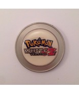 COLLECTIBLE METAL POKEMON WHITE VERSION 2 COIN TOKEN NINTENDO - $24.49