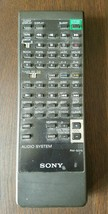Sony RM-S375 Audio Systems Remote Control Genuine OEM RMS375 - $12.86