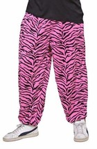 Gents 80's Baggy Trousers - Sport / Rock Star /  Hip Hop - Pink / Black  - $18.99