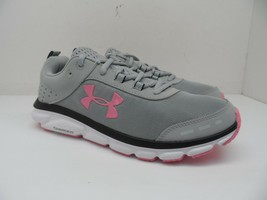Under Armour Women's Charged Assert 8 Running Shoes Mod Gray/White 9.5M - $75.99