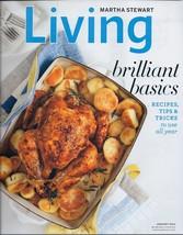 Martha Stewart Living January 2011 Magazine- Brillant Basics-Recipes-Tips-Tricks - $2.50