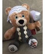 "Build A Bear Marvel Thor Plush NWOT Smallfries 10"" Small Fries Plushies - $29.02"
