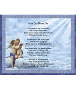 Love Can Never Die  Sentimental Print Perfect for Framing Gift for Someo... - $11.95