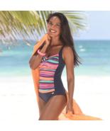 Liz Claiborne Paisley One Piece Swimsuit  New - $29.99