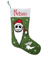 Jack Skellington Christmas Stocking - Nightmare Before Christmas Stocking - $29.99