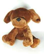 2016 Animal Adventure Plush Puppy Dog Solid Brown Stuffed Animal Toy EUC - $14.95