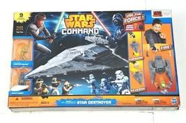 Star Wars Command Star Destroyer Luke Skywalker Darth Vader & Troops - $29.99