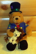 "Disney Winnie Pooh Plush 13"" Cutest World Famous Circus Lion Tamer - $10.89"