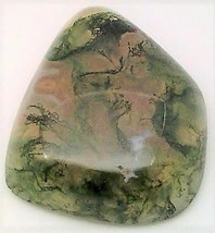 Moss Agate Cabochon 102 - $7.90