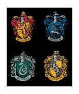 "Wizarding World-Harry Potter House Crest Panel-35"" x 43""-Camelot Fabrics - $11.95"