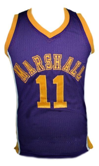 Hoop Dreams Movie Arthur Agee Basketball Jersey Sewn Purple Any Size
