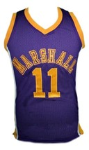 Hoop Dreams Movie Arthur Agee Basketball Jersey Sewn Purple Any Size image 1
