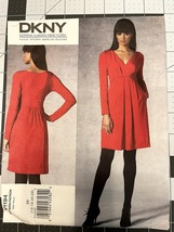 Vogue DKNY Donna Karan Pattern V1194 SZ 16-18-20-22 Misses Dress Plus Un... - $10.00