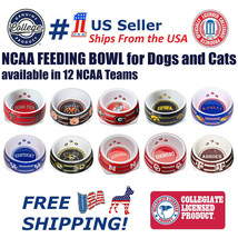 Sporty K9 Dog Bowl. - NCAA Licensed Feeding/Watering Bowl for  Dogs and ... - $5.39+