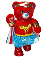 Build a Bear Warrior Wonder Woman Teddy with Cape Costume Outfit 16in. P... - $169.99