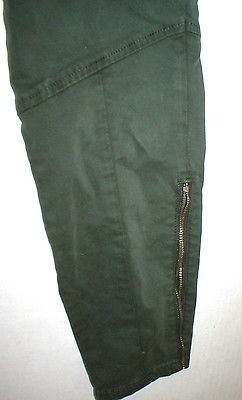 New J Brand Jeans Womens Skinny Pants Houlihan 25 Distressed Caledon Green Zip image 7