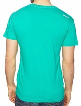 Bench GB Hombre Chop Música Músico Collage Camiseta Verde BMGA2706 Nwt image 2