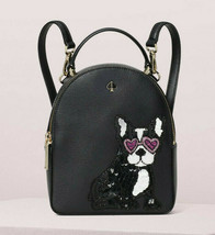 Kate Spade Bulldog amelia francois mini convertible backpack Crossbody ~... - $245.52