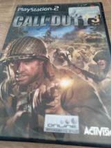 Sony PS2 Call Of Duty 3 (no manual) image 1