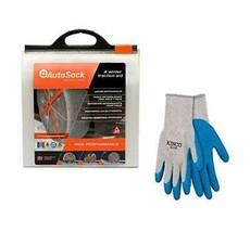 AutoSock HD AL111 Snow Sock Set W/ Free Poly-Cotton Glove, Large - $246.11