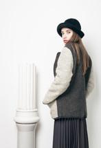 80s vintage wool coat - $62.96