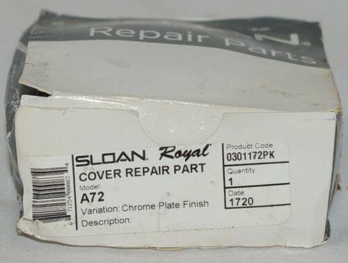 Genuine Sloan Repair Parts Variation Chrome Plate Finish 0301172PK