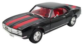 1967 chevrolet Camaro Z/28 Black 1/18 Diecast model car - $58.00