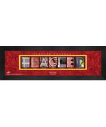 Personalized Flagler College Campus Letter Art Framed Print - $39.95