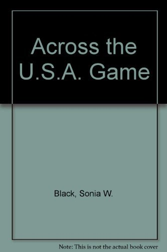 Across the U.S.A. Game Black, Sonia W. and Brigandi, Pat