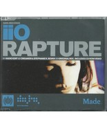 IIO - RAPTURE / (REMIXES) 2001 UK ENHANCED CD SINGLE MARKUS MOSER NADIA ALI - $11.87