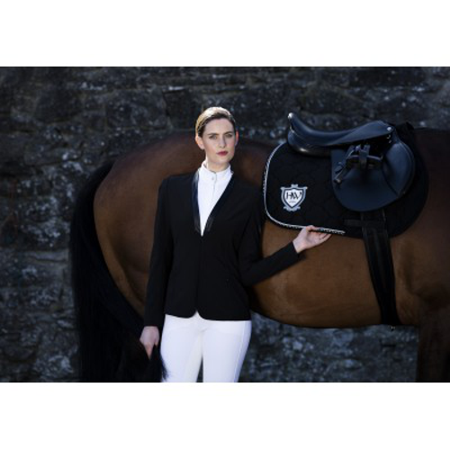 Horseware Ladies Collarless Show Jacket Black X Small