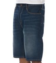 Levi's Men's Premium Cotton Loose Straight Denim Shorts Dark Blue 569-0027 image 2