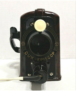 Dux Episcop Brown Bakelight Projector Germany Tested Working - $39.99