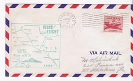 FIRST FLIGHT FARGO, N. DAK. - MINNEAPOLIS, MINN 6/22/1952 AM86 - $1.98