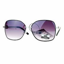 Damen CG Eyewear Sonnenbrille Chic Modisch Quadratisch Metallrahmen - $9.96
