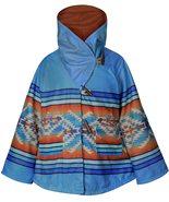 Women Yellowstone Poncho Jacket Kelly Reilly Fleece Hooded Beth Dutton B... - $128.25+
